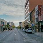 King Street West looking East from Prince St.- by Graeme George