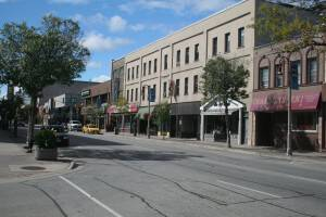 King St. E. just West of Celina looking North West by Denis Lalonde