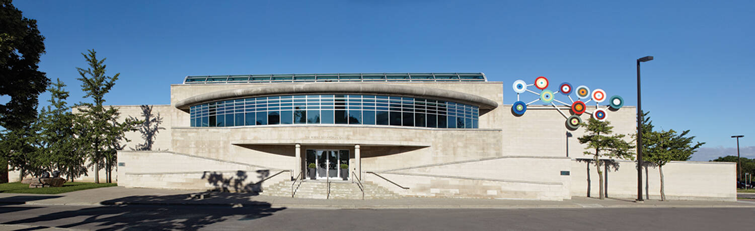 exterior of gallery