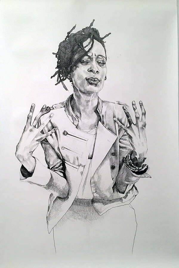 drawing by Syrus Ware