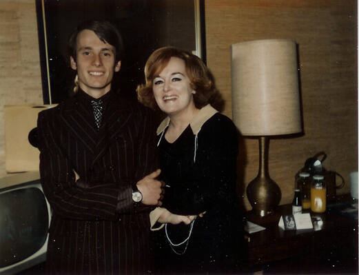 Bren Gun Girl Ronnie Foster with son Thomas 1973 9