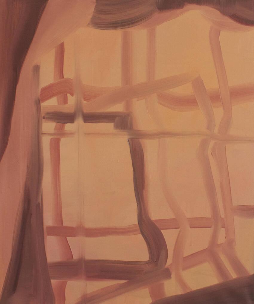 E. Lafontaine, 12h45, oil on canvas, 2015