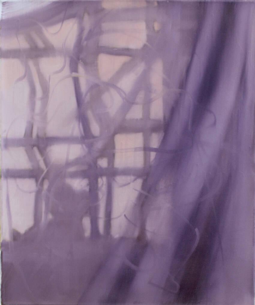 E. Lafontaine, 15h15, oil on canvas, 2015