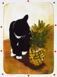 Barry Smylie, Pineapple Cat, 1989