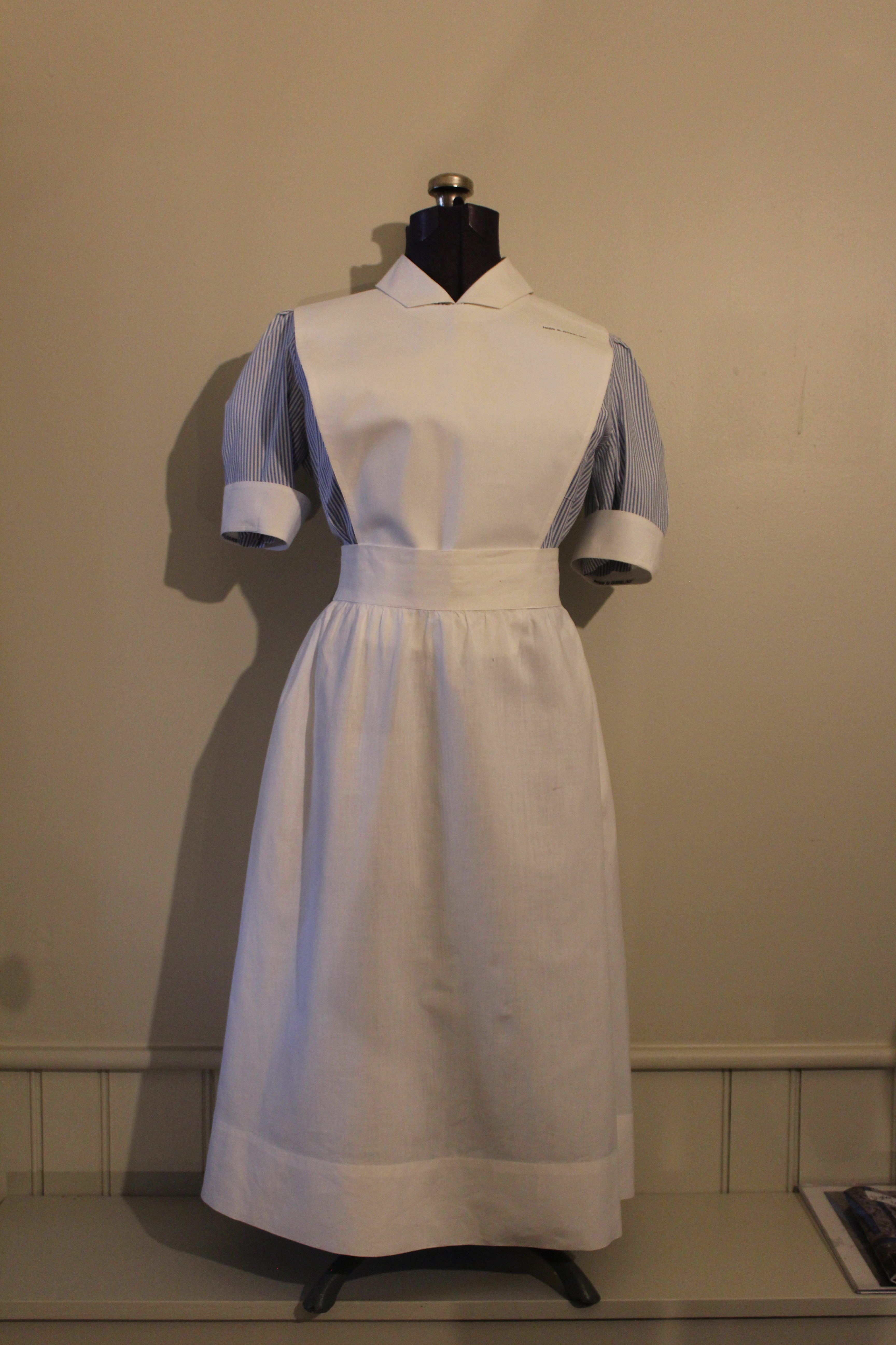 Oshawa General Hospital School of Nursing Student Nursing Uniform, c. 1960