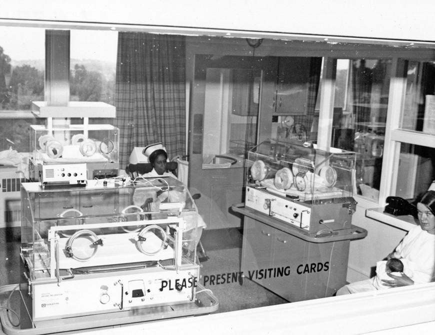 Nursery, Sykes Wing, 1962