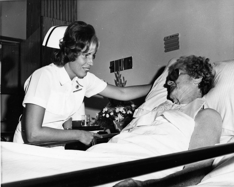 Bedside Nursing, Oshawa General Hospital, 1973