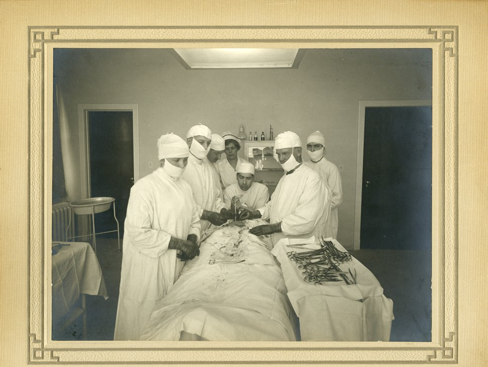 Operating Room in Oshawa General Hospital, c. 1940s