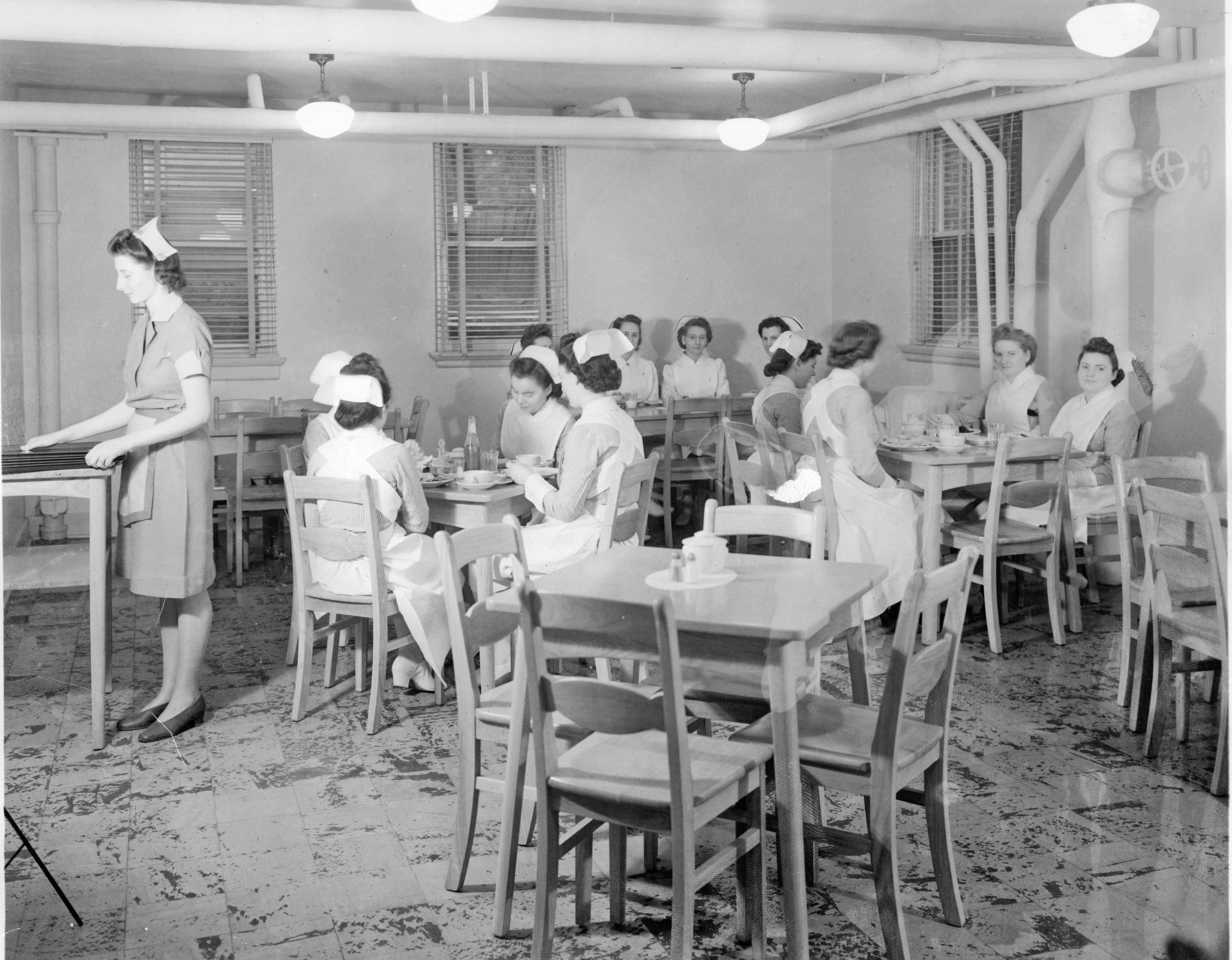 Nursing School Cafeteria, c. 1940