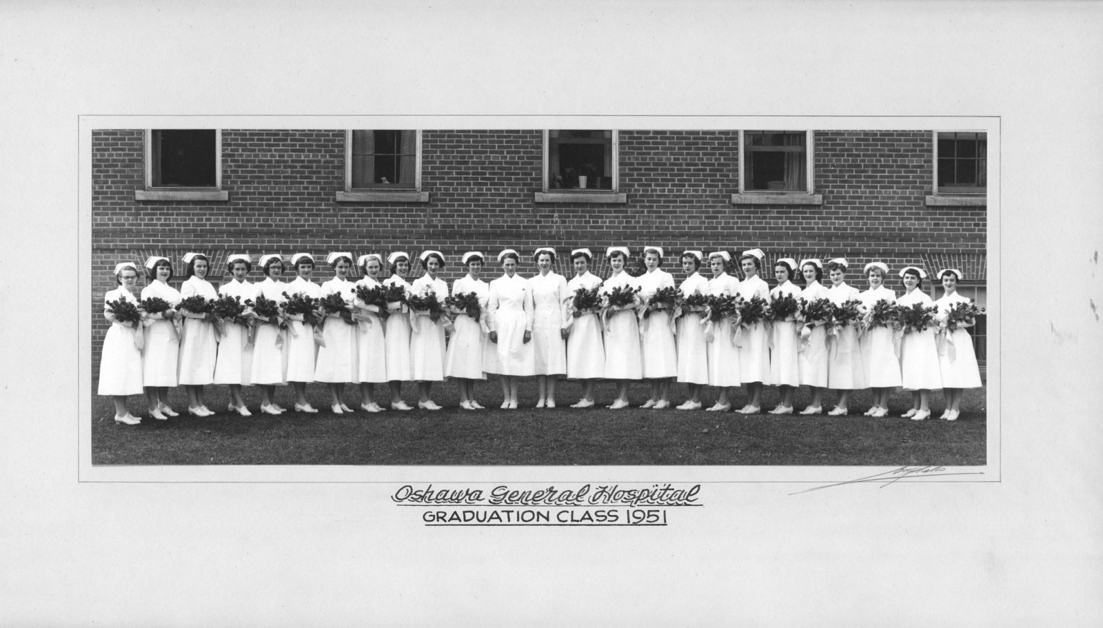 Oshawa General Hospital Nursing Class of 1951