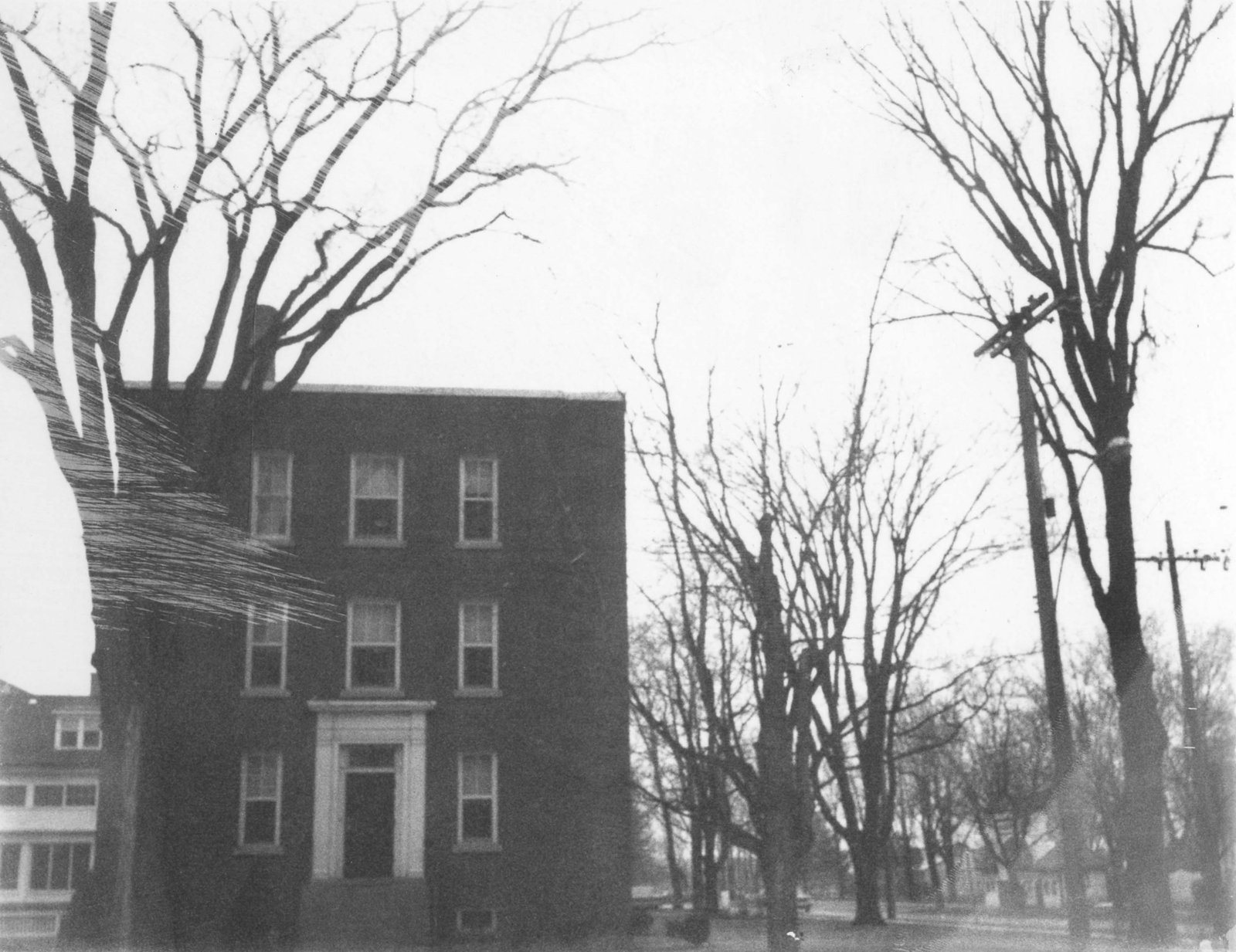 McLaughlin Hall, Nursing residence, c. 1960