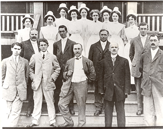 Oshawa General Hospital Staff, 1912