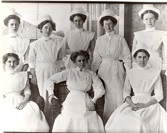 Oshawa General Hospital Nurses, 1912